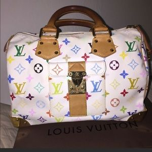 100% Authentic Louis Vuitton Murakami speedy 30